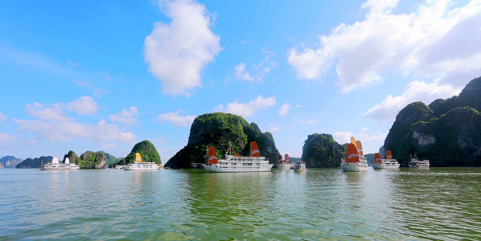 1 trong 7 kỳ quan thiên nhiên của thế giới - Vịnh Hạ Long